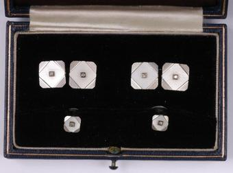 Antique CUFF-LINKS AND STUDS