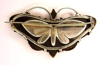 Antique SCOTTISH BUTTERFLY BROOCH