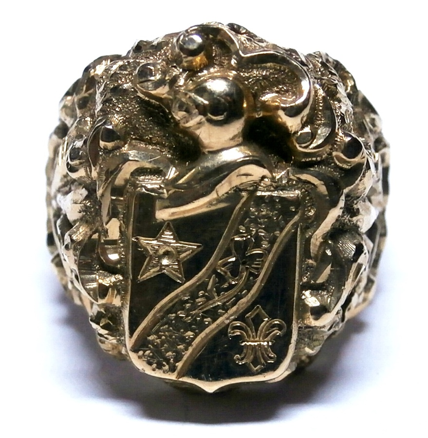Military armorial ring N578A