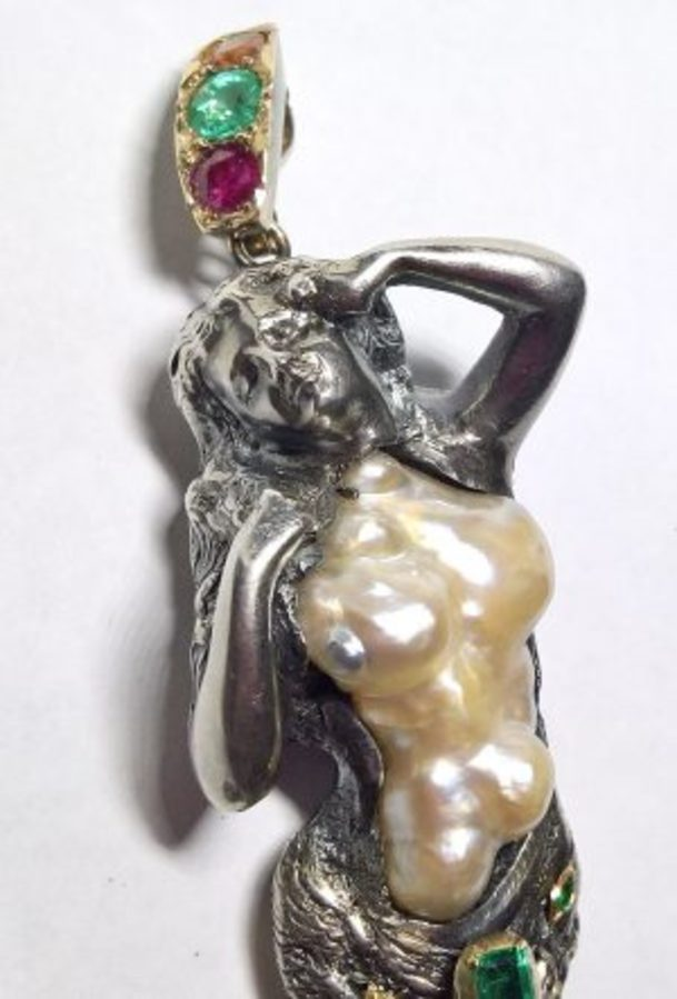 Mermaid Pendant N624A
