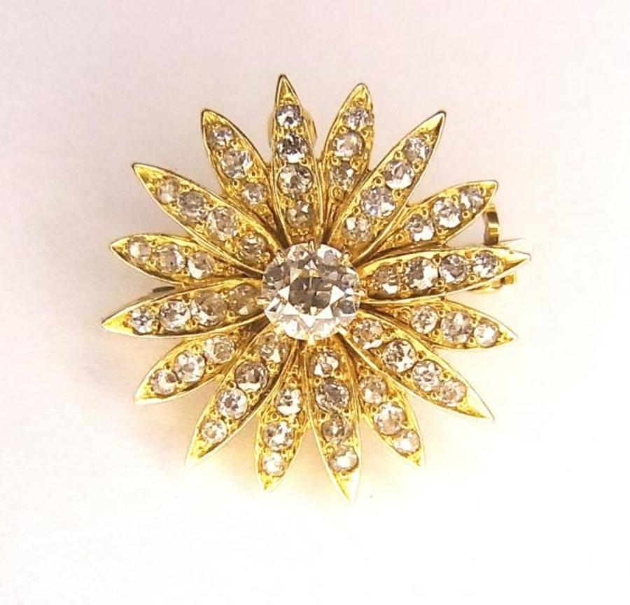 DIAMOND STAR PENDANT/BROOCH