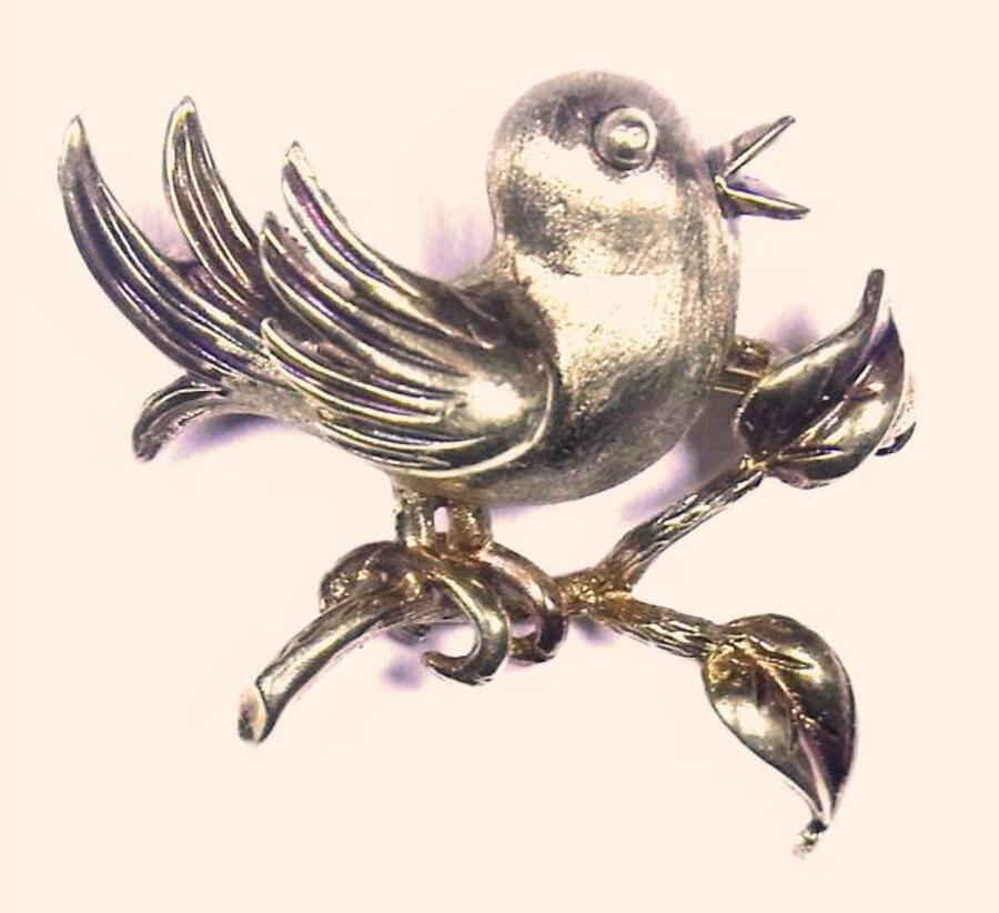 CHIRPY BIRD BROOCH