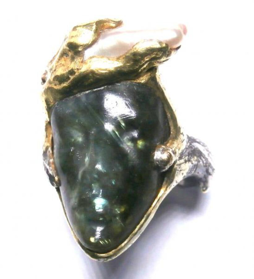 David Hensel Labradorite Ring