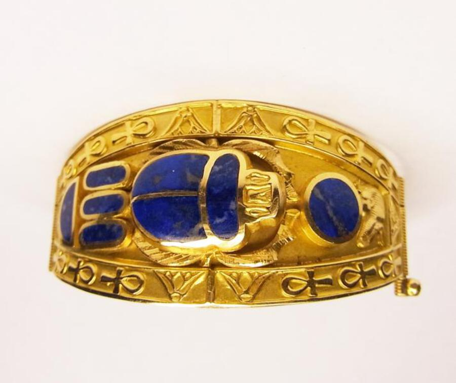 Egyptian Revival Bangle N477A