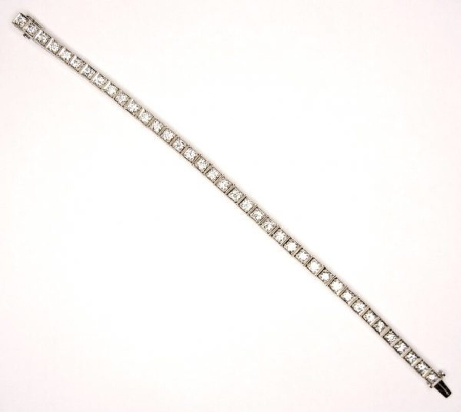 Antique DIAMOND LINE BRACELET