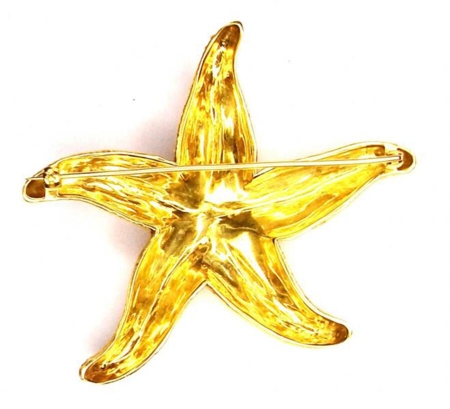 Antique STARFISH BROOCH