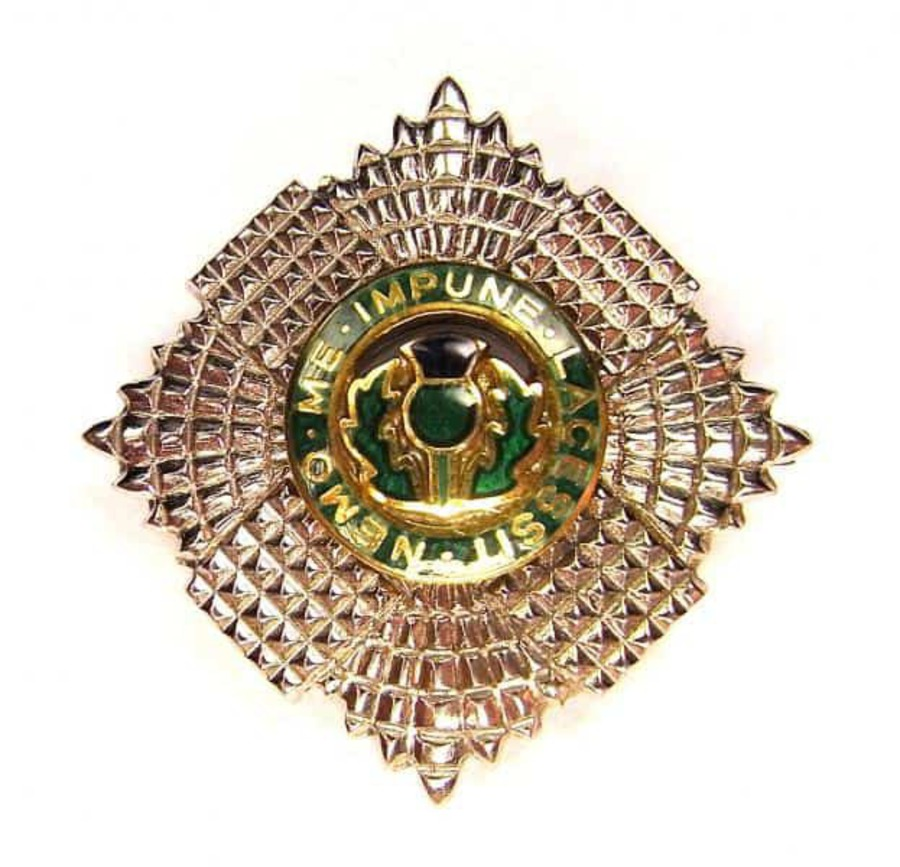 Antique SCOTS GUARD 'SWEETHEART' BROOCH