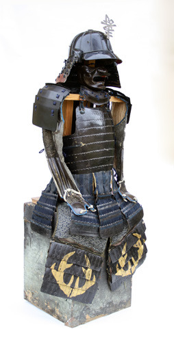 Antique A Japanese Full Armour, 19th Century.