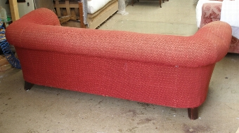 Antique Edwardian 3str Chesterfield sofa - AWAITING RENOVATION