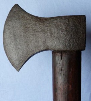 Antique C.1800's French Army/Navy Military Axe