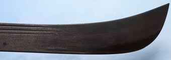 Antique Mid-19th Century English Naval Machete #2
