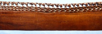 Antique Large and Impressive Antique African Tribal Ceremonial Wooden Sword
