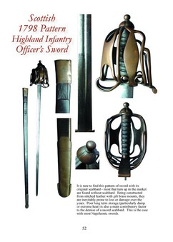 Antique British Napoleonic Infantry Swords Part One – Full Colour Booklet for the Collector