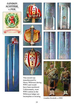Antique 1828 Pattern Scottish Highland Officer's Basket-hilted Broadsword – Full Colour Booklet for the Collector