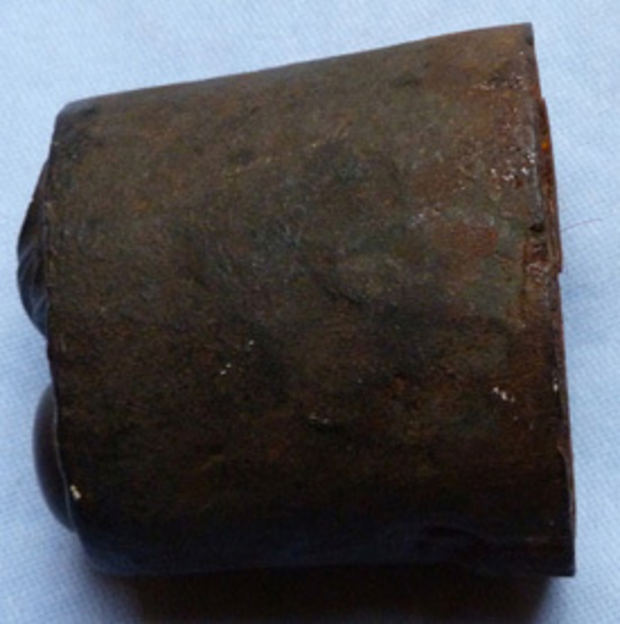 Antique 19th Century British Army Badge Die Mould