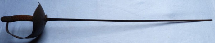 C.1900's British Army Gymnasium Sword