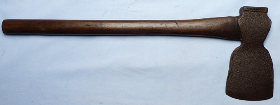 Rare C.1800's British Army Pioneer Camp Military Axe