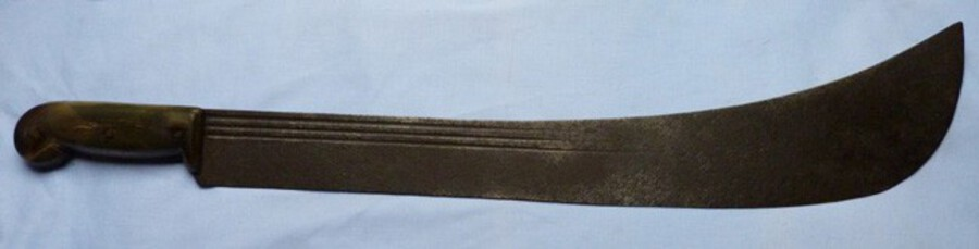 Large Mid-19th Century British Naval Machete Cutlass #2
