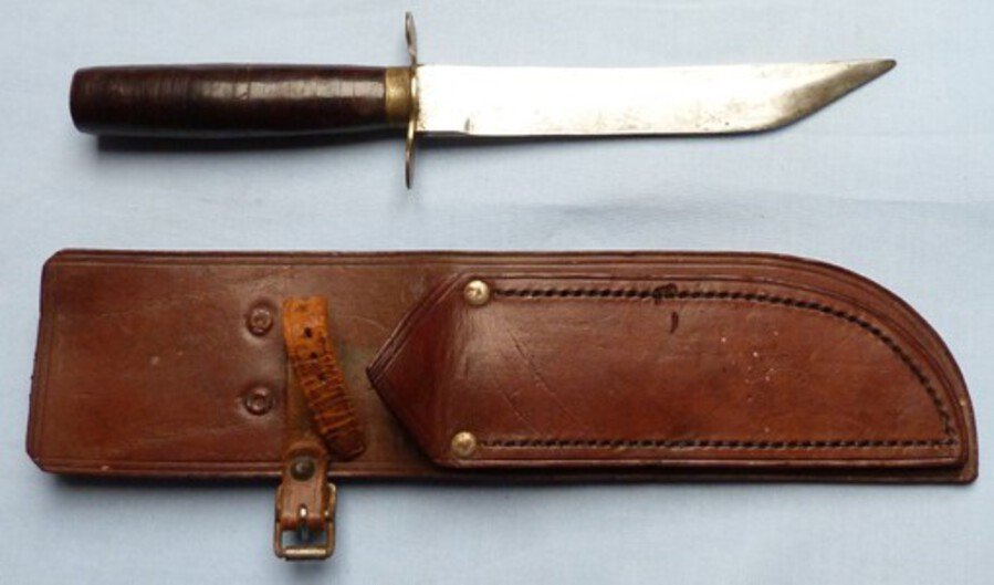 Unusual WW2 Private Purchase Allied Forces Fighting Knife
