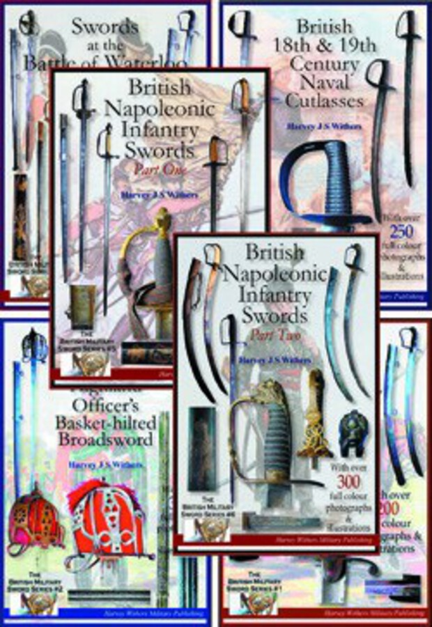 Antique Full Colour Sword Booklets for the Collector – SET OF SIX – for the Antique Sword Collector