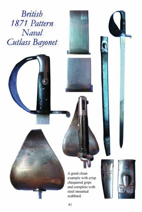 Antique British 18th and 19th Century Naval Cutlasses – Full Colour Booklet for the Collector