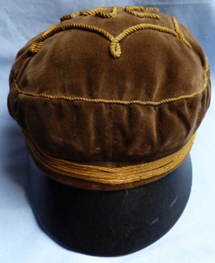 Imperial German Military/Duelling Society Soft Peaked Cap