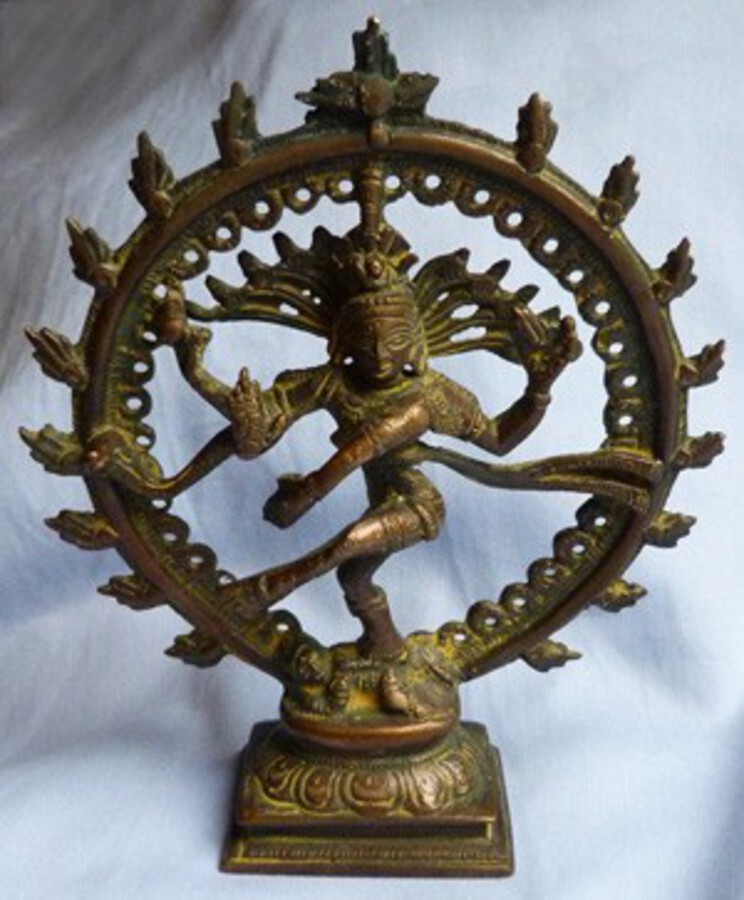 Antique Bronze Indian Shiva Statue
