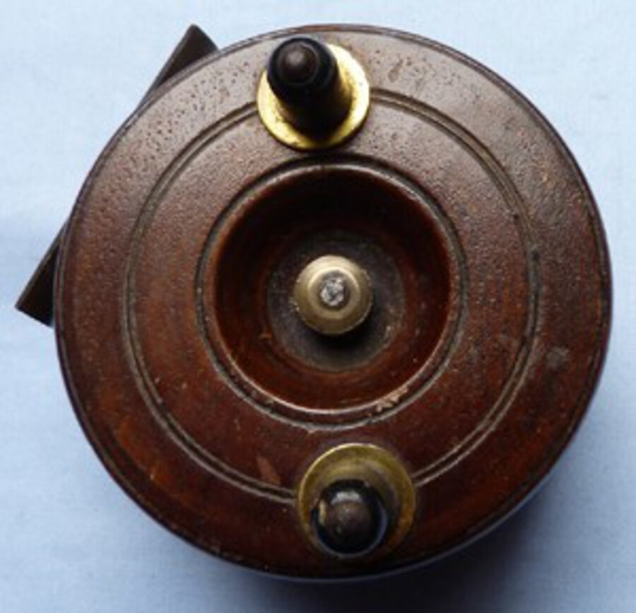 19th Century Vintage English Fishing Reel
