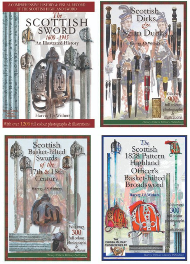 Full Colour Scottish Sword Books for the Collector – SET OF FOUR