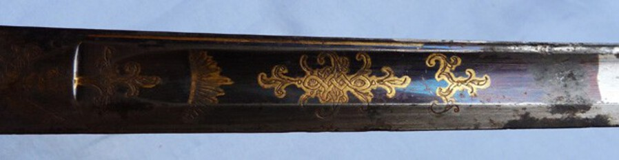 Antique Original C.1780's English Military Officer's Hanger Sword