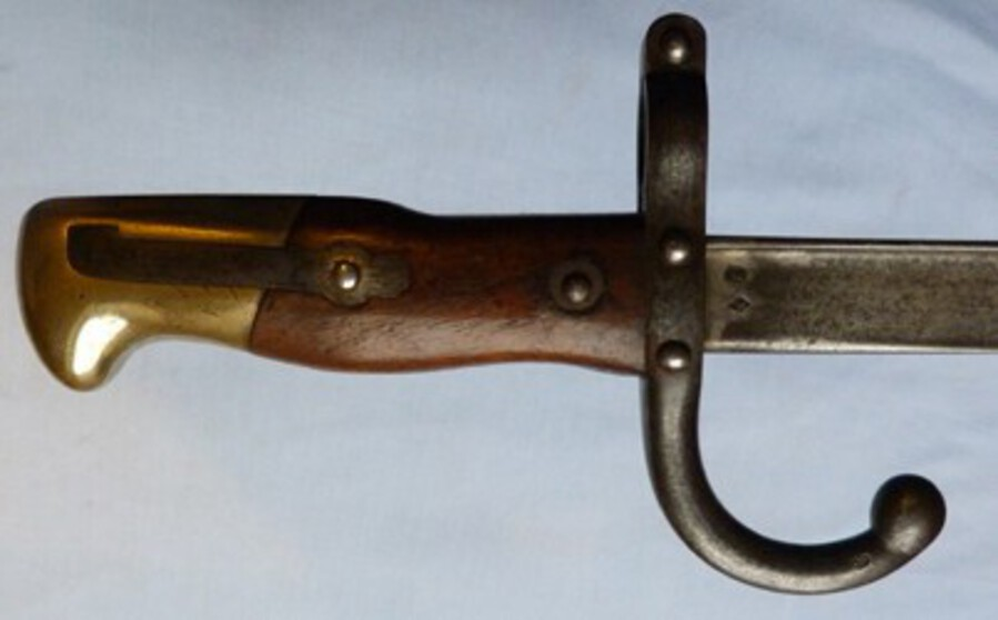 Antique French Model 1874 Gras Bayonet – Matching Numbers