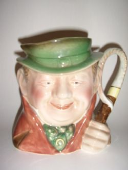 Antique BESWICK CHARACTOR TONY WELLER TOBY JUG
