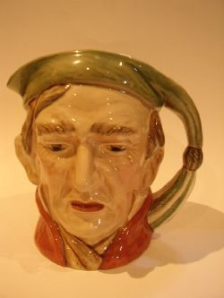 BESWICK CHARACTOR SCROOGE TOBY JUG No.372