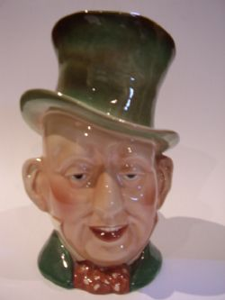 Antique BESWICK CHARACTOR MICAWBER MK2 TOBY JUG No.310