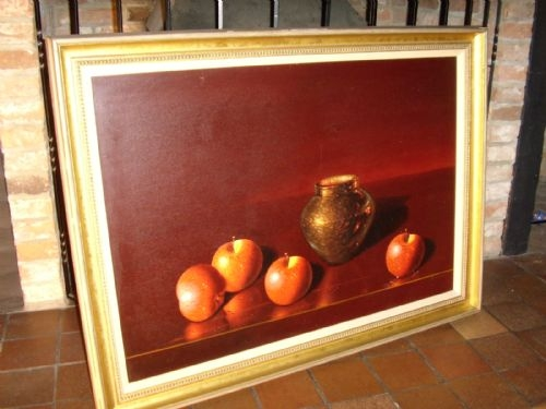 ORIGINAL LUCIANO GUARNIERI STILL LIFE FRUIT STUDY TITLED