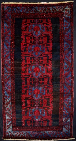 Antique ANTIQUE TURKISH KOMURCU KULA RUG, GREAT DESIGN, CIRCA 1920.