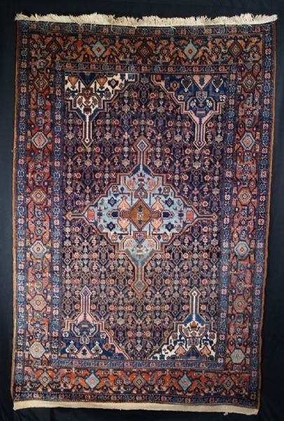 Antique ANTIQUE SENNEH RUG, NORTH WEST PERSIAN, LATE 19TH CENTURY