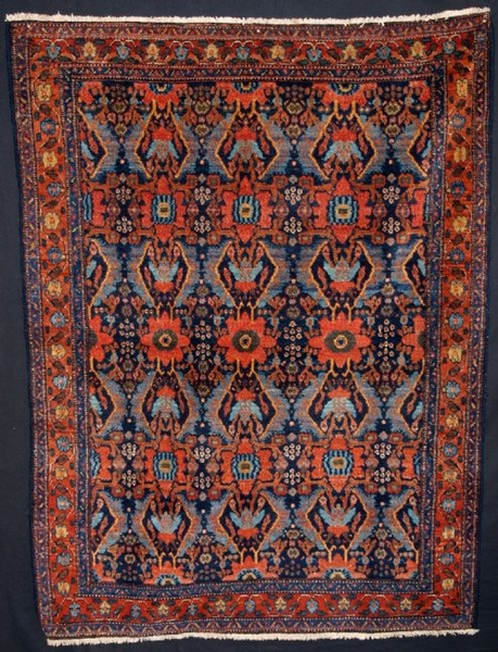 Antique ANTIQUE PERSIAN SENNEH RUG, GREAT CONDITION, LATE 19TH CENTURY