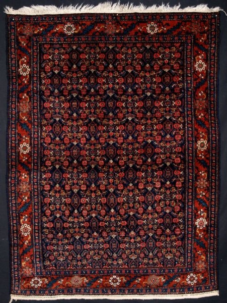 Antique ANTIQUE NORTH WEST PERSIAN SENNEH RUG OF SMALL SIZE, CIRCA 1920