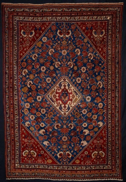 Antique ANTIQUE SOUTH WEST PERSIAN QASHQAI RUG, VERY FINE, CIRCA 1880
