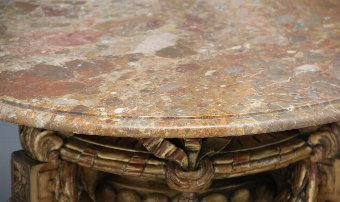 Antique Marble top occasional table
