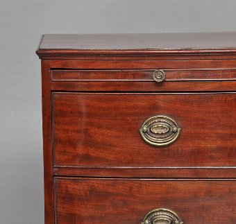 Antique Early 19th Century mahogany chest