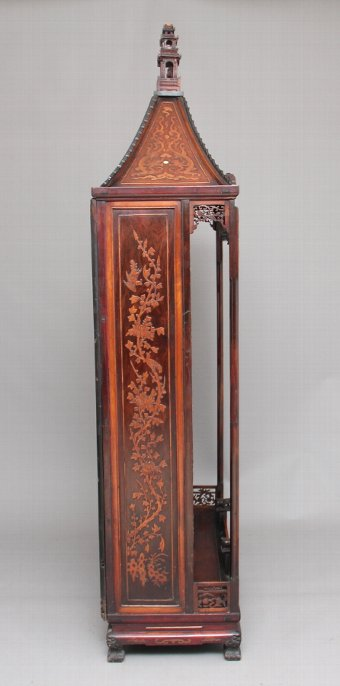 Antique Early 19th Century Chinese display cabinet / bookcase