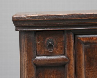 Antique 19th Century Chinese elm rustic dresser