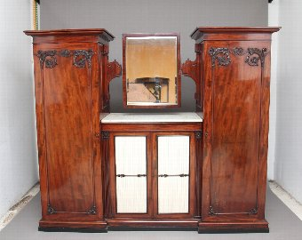 Antique 19th Century mahogany wardrobe