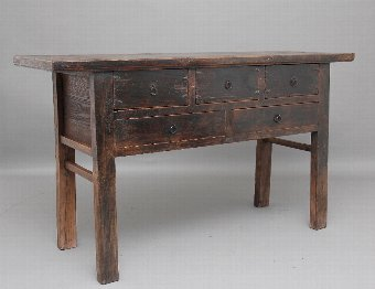 Antique 19th Century rustic Chinese dresser