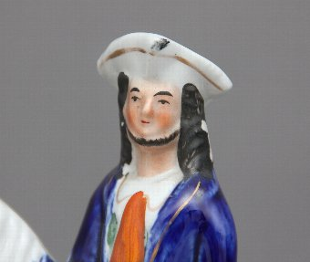 Antique Staffordshire figure of Tom King