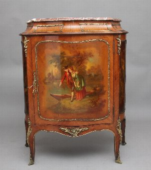 Antique 19th Century French Kingwood and brass mounted cabinet