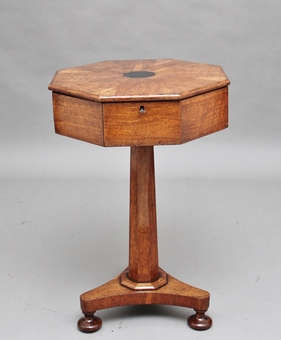 Antique 19th Century oak work table