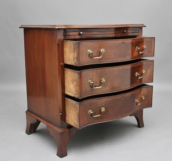 Antique Early 20th Century serpentine chest of drawers